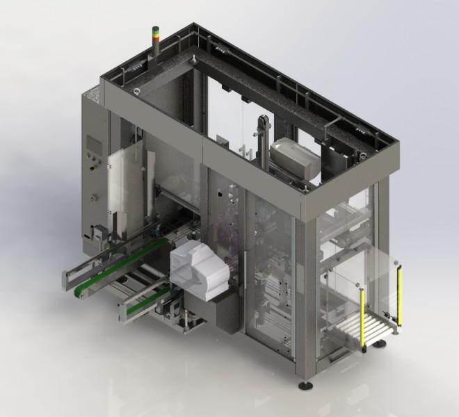 Consejo introduceert de nieuwe Knecht A-800 dozenopzetmachine